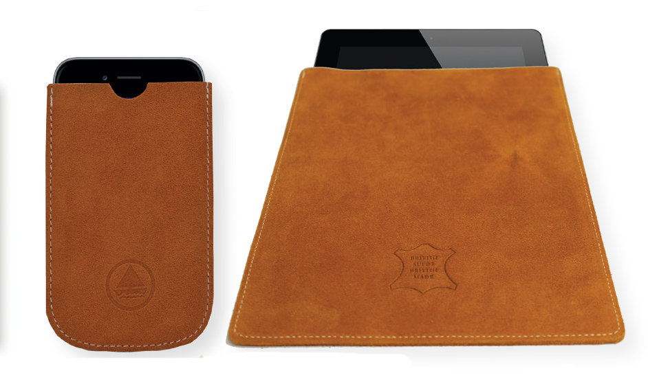 suede phone and tablet covers