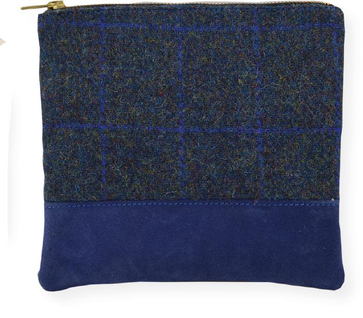 suede & tweed Bag